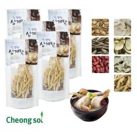 건강한삼계탕재료 2~3인용(5봉)